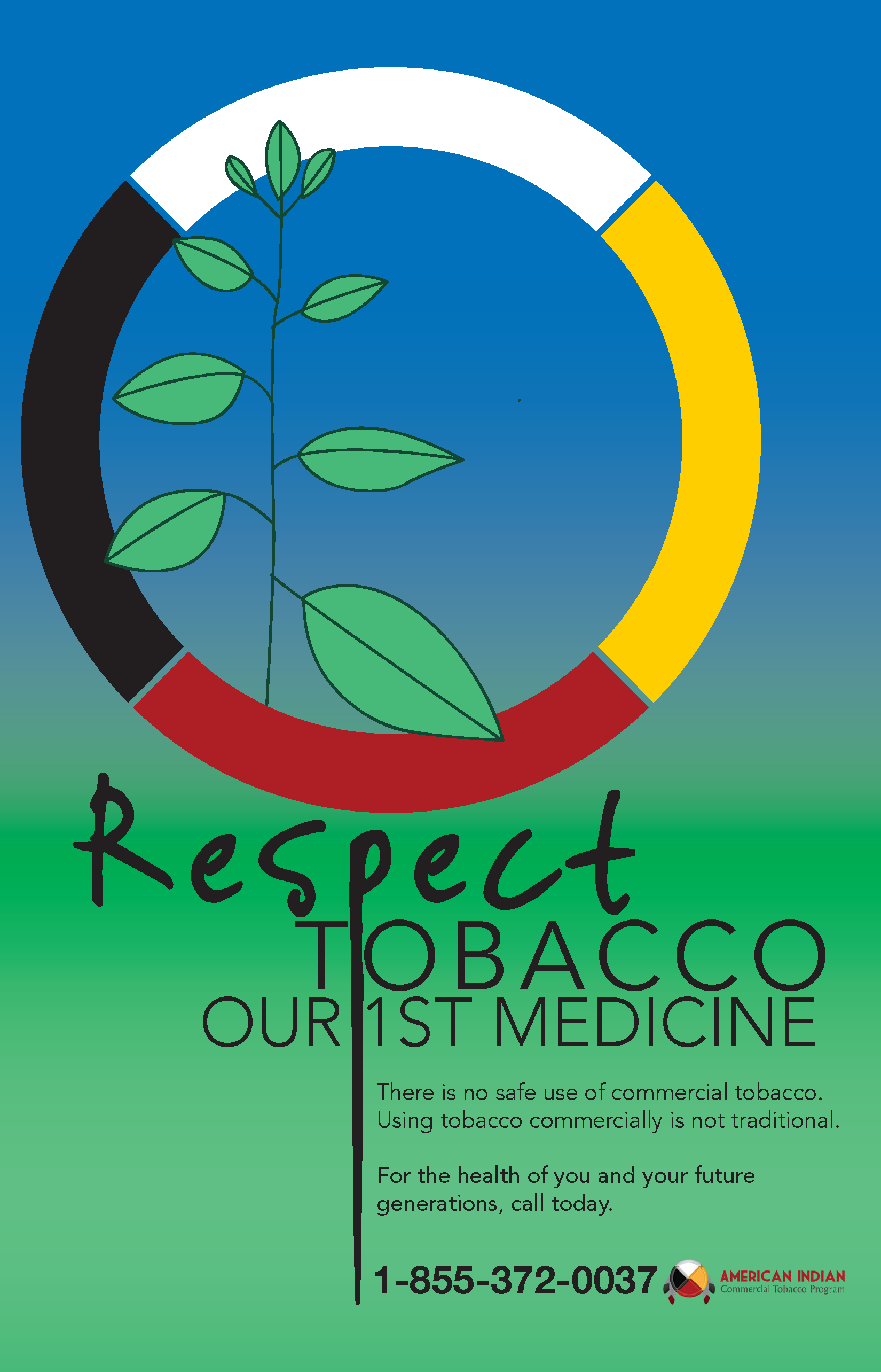 Michigan Smoking Cessation_Respect Tobacco Poster